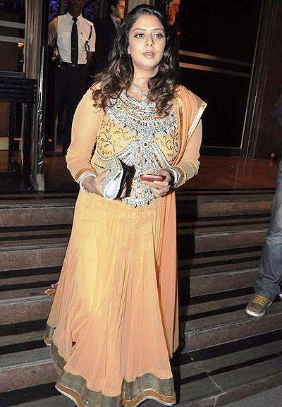 a celeb at abhinav and ashima shukla wedding reception