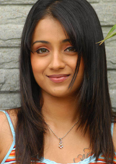 Trisha Krishnan Beautiful Smile Pic
