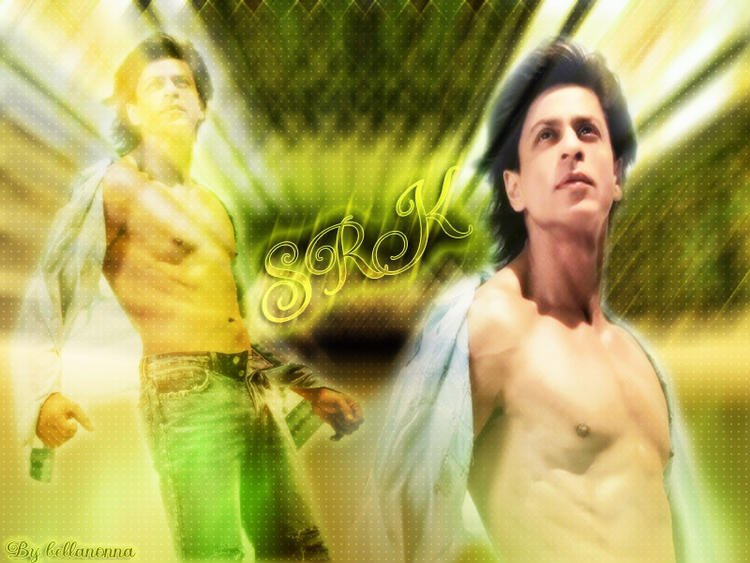 Shahrukh Khan Six Pack Abs Wallpaper Bollywood King Shahrukh Khan