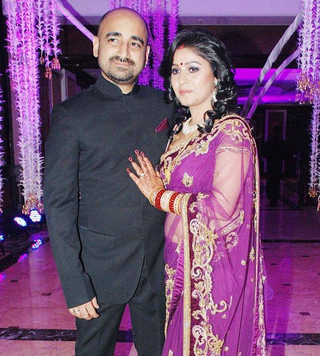 Sunidhi Chauhan Wedding Reception