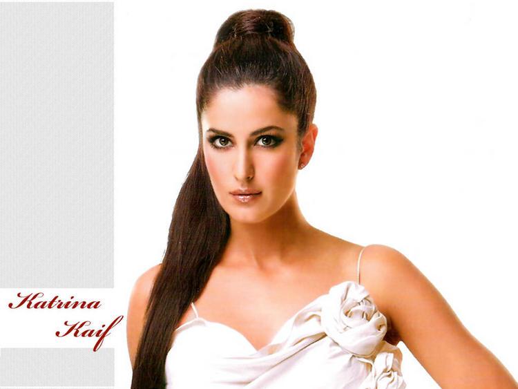 Katrina Kaif Latest Hair Style Glamour Wallpaper Style