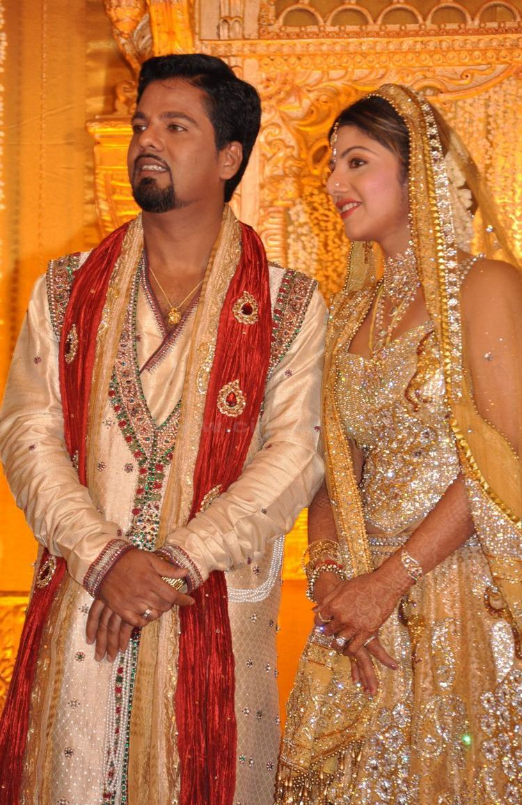 Rambha And Her Husband Photo