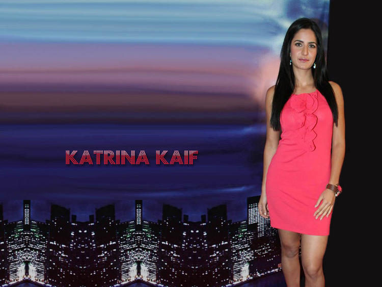 Katrina kaif pink dress hot wallpaper