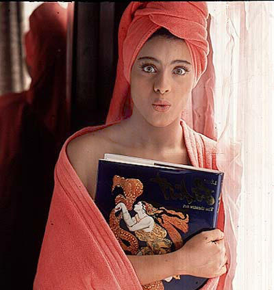 Kajol Devgan Hot Photo Shoot After Bathing