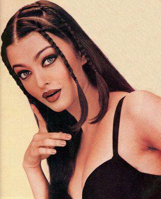 Aishwarya Rai Cute Hair Style Sexy Look Pic