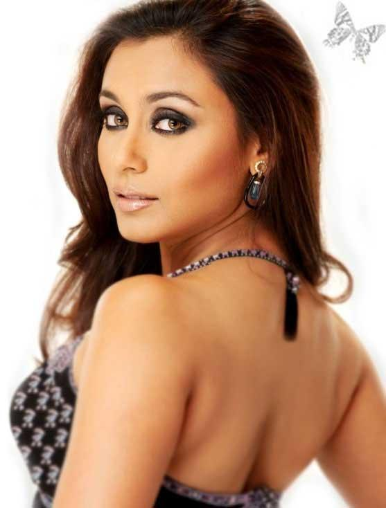 Rani Mukherjee Hot Back Exposing Pic