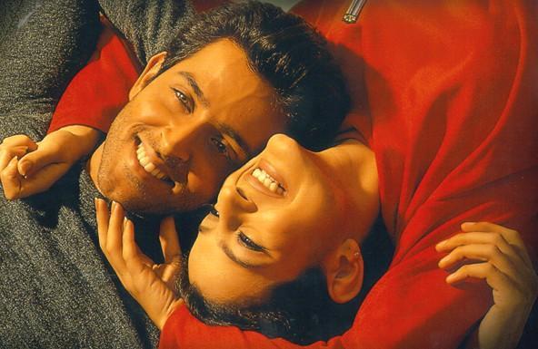 Amisha Patel And Hrithik Roshan In Kaho Naa Pyaar Hai