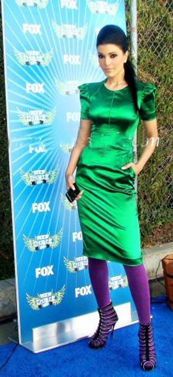 Koena Mitra Glazing Green Dress Sexy Pic