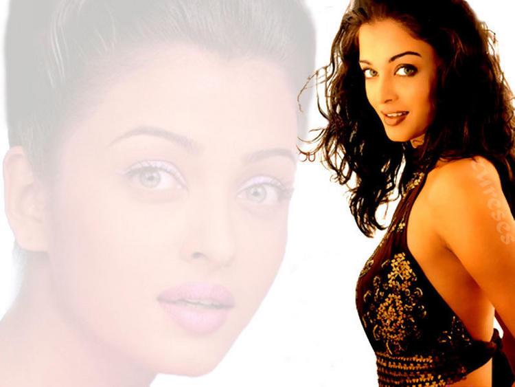 Blue Eyes Beauty Aishwarya Rai Wallpaper