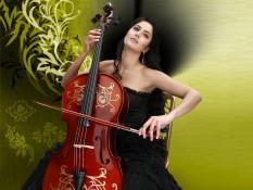 Katrina Kaif Guitar Playing Pic