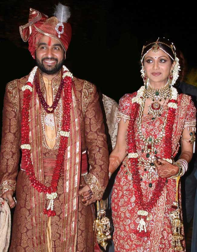 Shilpa Shetty Weds Raj Kundra