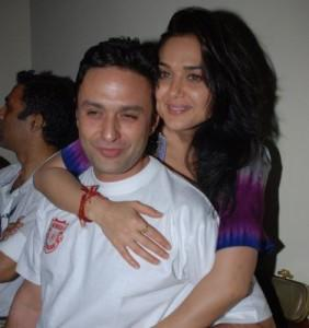 Preity Zinta and Ness Wadia Swetest Pic
