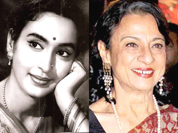 Nutan and Tanuja Smiling Photo Still , Some Famous ...