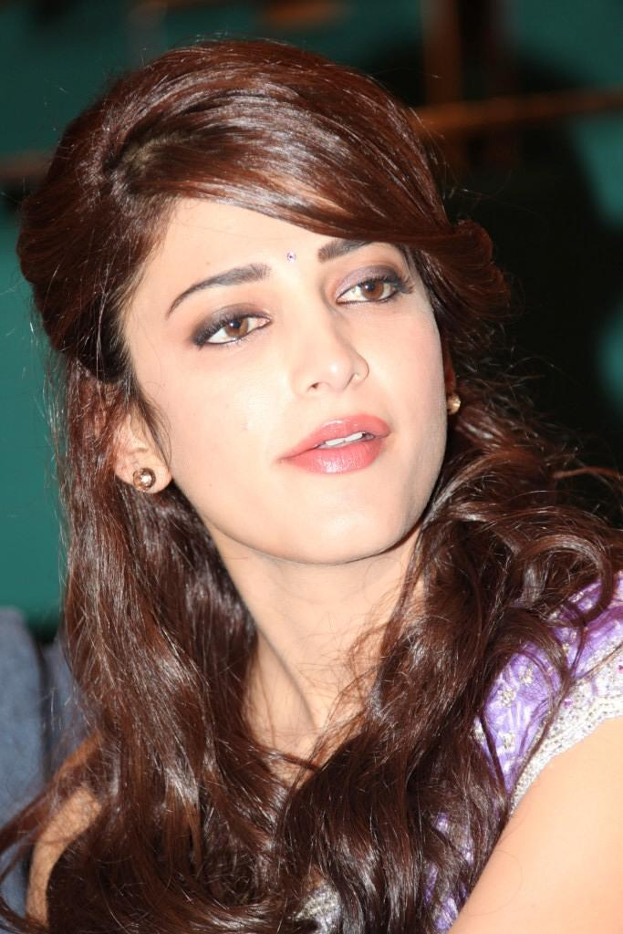 Hair Staill : ... Completed Her Look With Flowing Hair Still At Balupu Movie Logo Launch