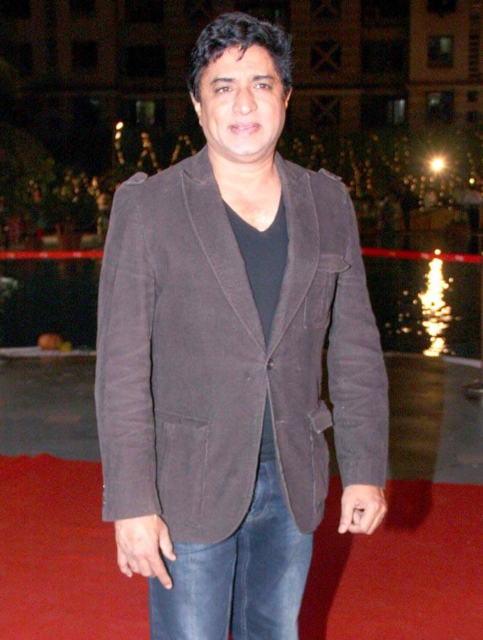 Bollywood Stars At Anjan Shrivastav Son's Wedding Reception