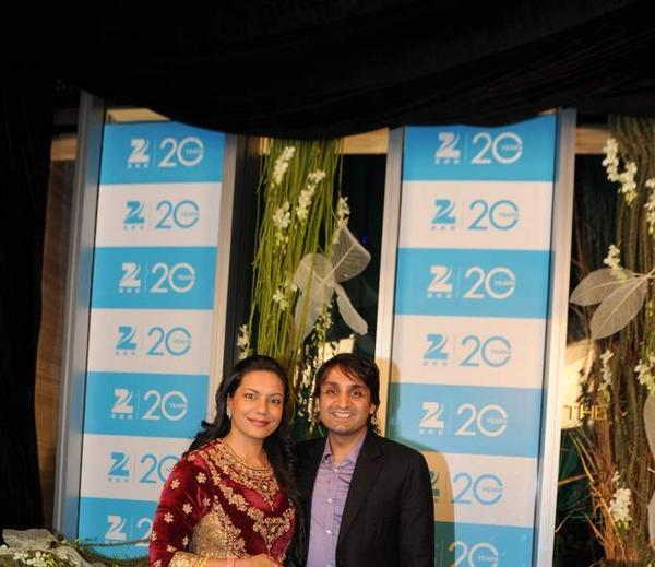 Celebs Pose For Camera At 20th Anniversary Bash Of ZEE TV