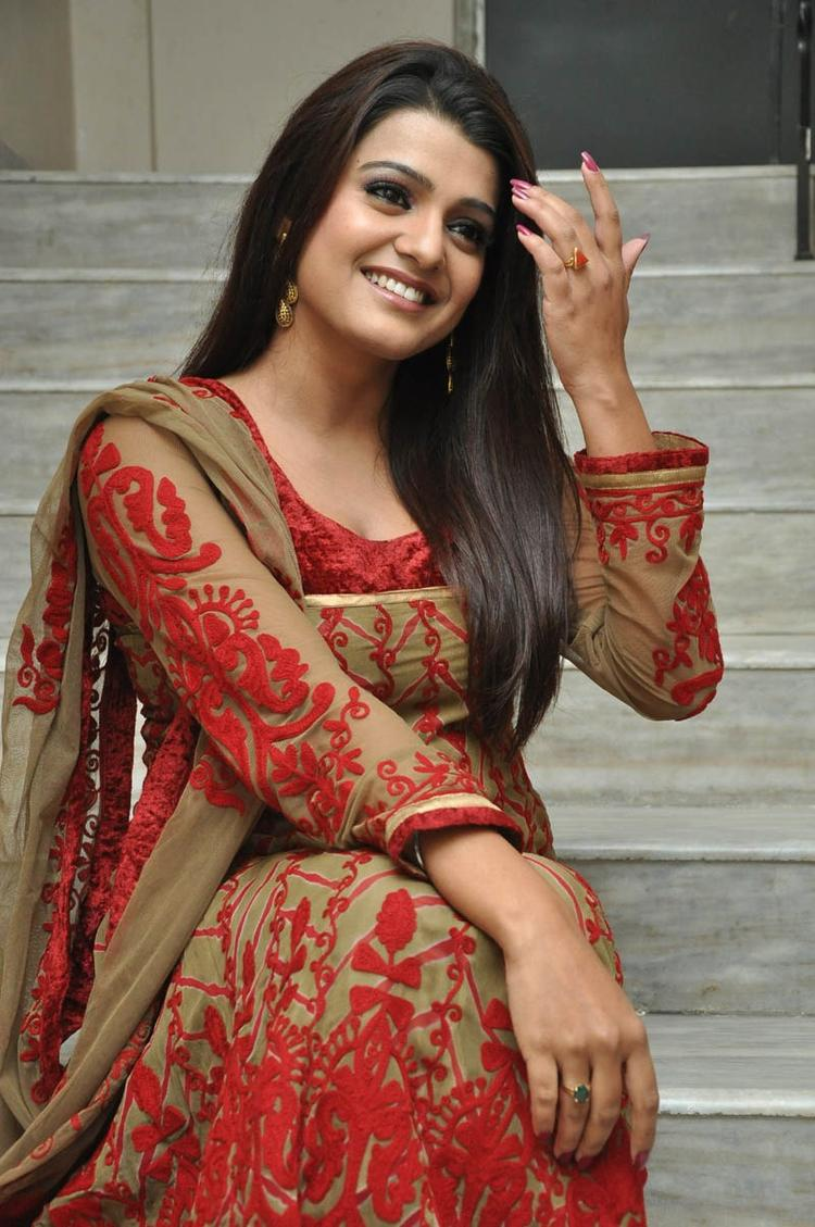 Tashu Kaushik Stunning Look At Gola Seenu Movie Audio Release Function
