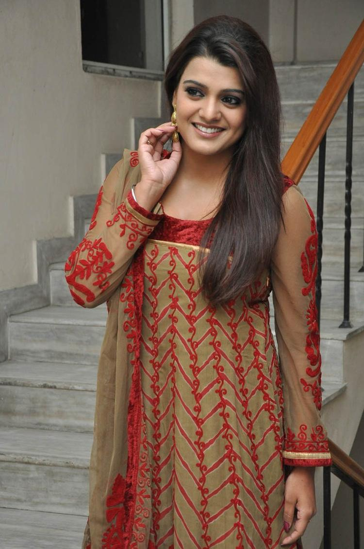 Tashu Kaushik Trendy Look At Gola Seenu Movie Audio Release Function