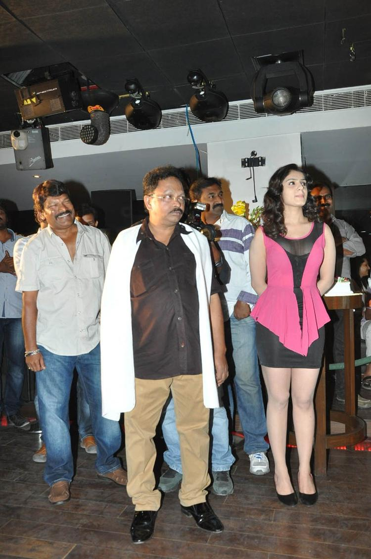 Ramesh,Lucky And Krishna Vamsi Walks On To Attend The Paisa Movie Logo Launch Function