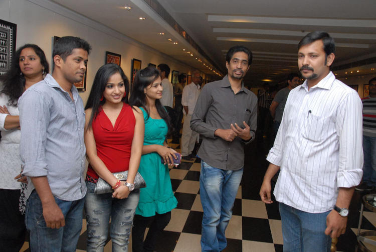 Madhavi Latha During The Tribal Beauty Art Exhibition Launch Event