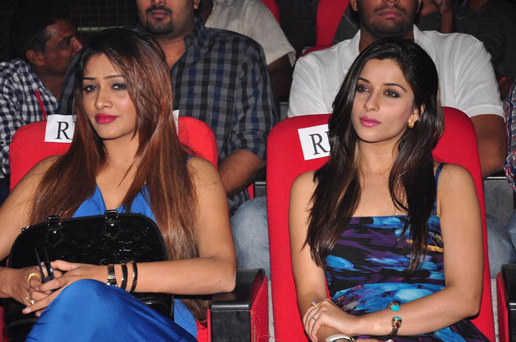 Madhurima With A Friend Sexy Look Photo Clicked At Shadow Movie Audio Release Function