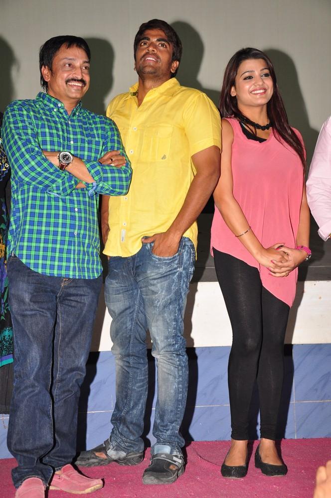 Raj Kandukuri,Srinivas And Tashu Make An Appearance At Gola Seenu Press Meet