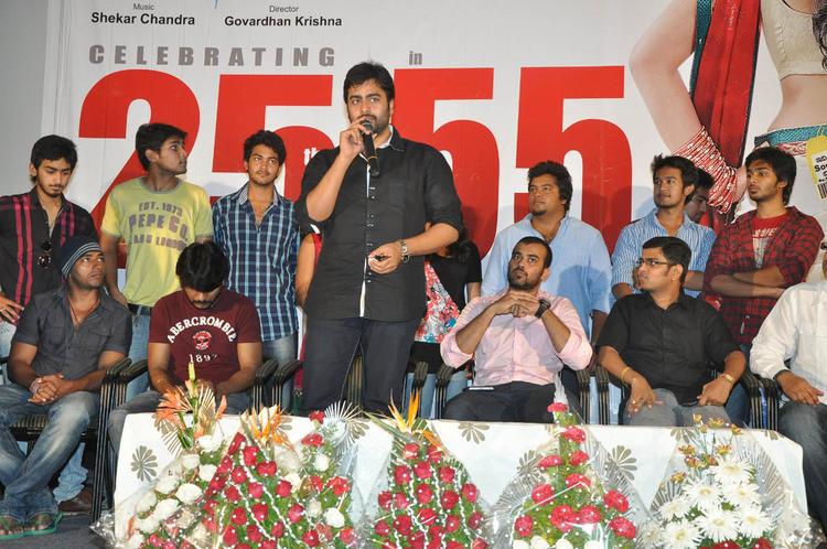 Nara And Venkatapathy Snapped At 3G Love 25 Days Celebrations Press Meet