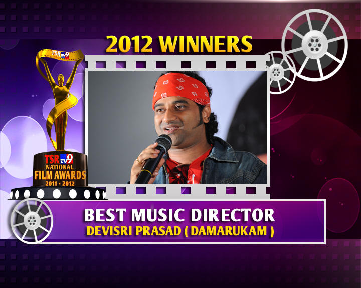 Devi Sri Prasad Is The Winner Of Best Music Director For Damarukam Movie