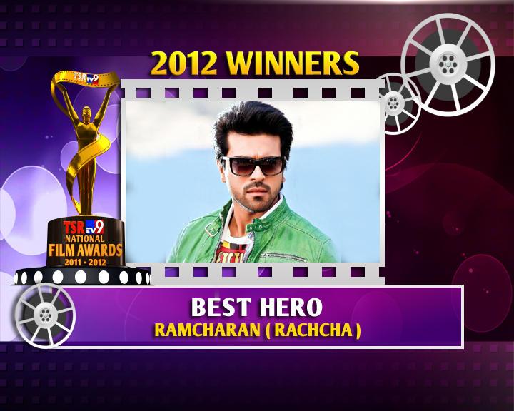 Ram Charan Is The Winner Of Best Hero For Rachcha Movie