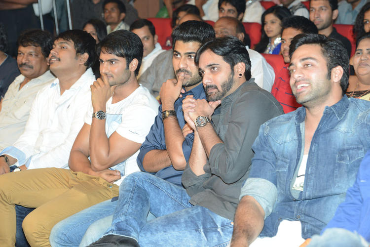 Sudheer Babu And Navdeep Cool At Paisa Movie Audio Launch Function