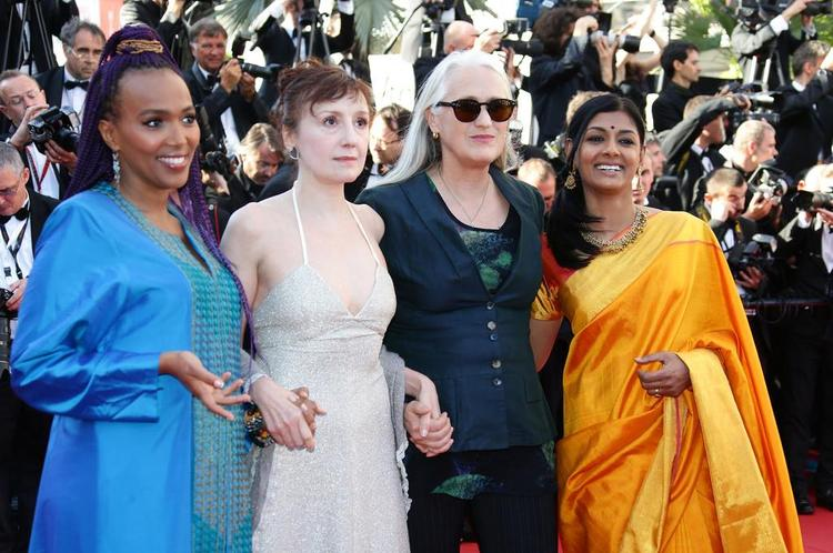 Maji-da,Nicoletta,Jane And Nandita Clicked At Zulu Premiere And Closing Ceremony During The 66th Cannes Film Festival