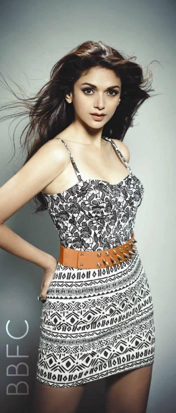 Aditi Rao Hydari Hot Sizzling Pose For The Man Issue ...