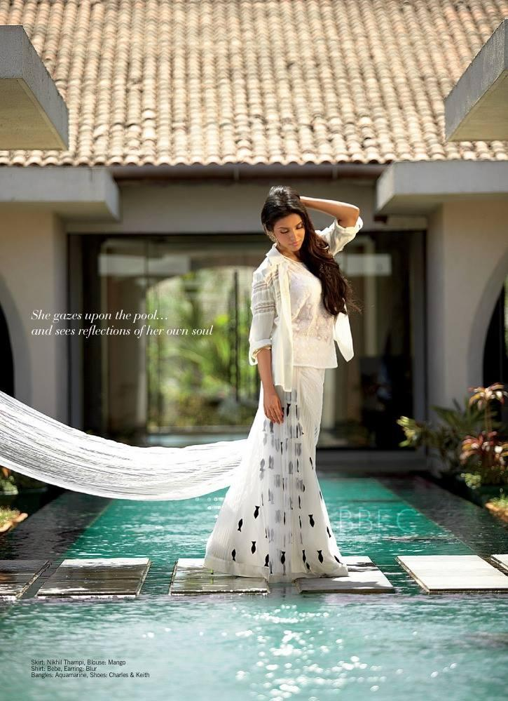 Asin Thottumkal Awesome Pic On The Cover Of Filmfare July 2013
