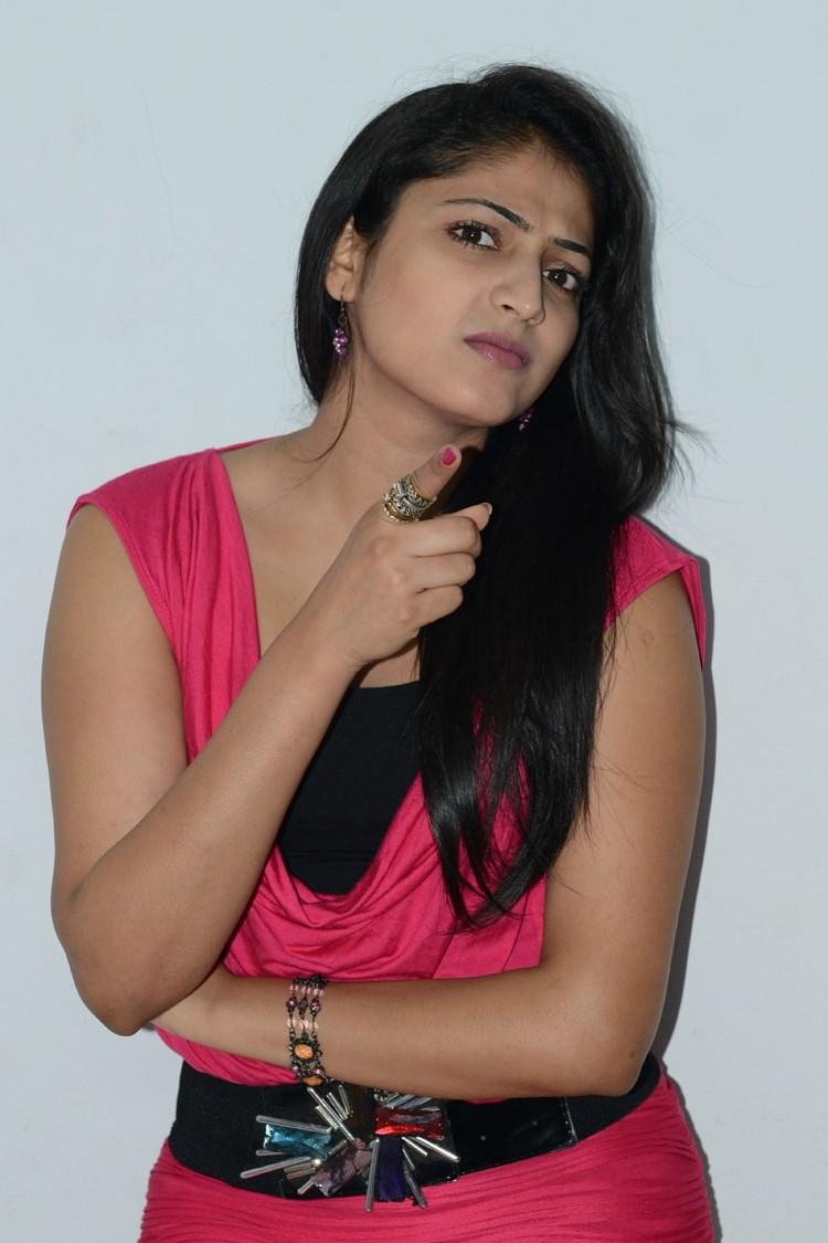 Cute Hot Hari Priya Still At Telugulo Naaku Nachani Padam Prema Press Meet