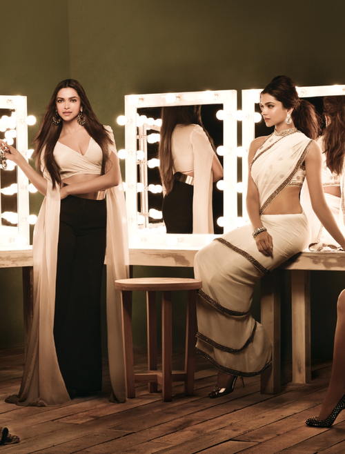Deepika Padukone Fashionable Look Photo Shoot For Femina India August 2013 Issue