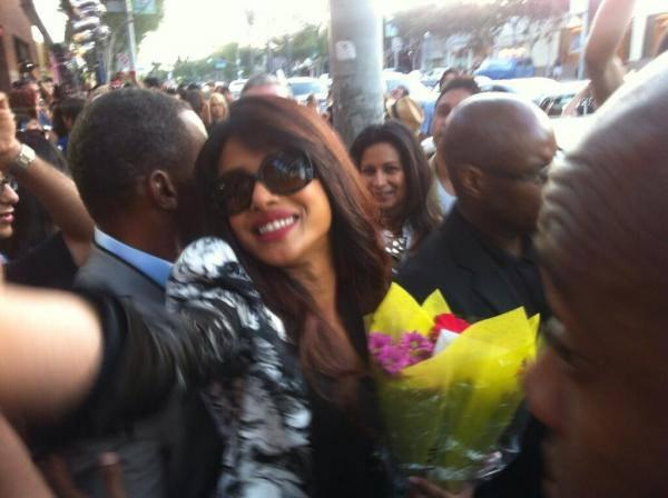 Priyanka Chopra Crowded With Her Fans During The Launch Of Milkshake The Exotic Singles