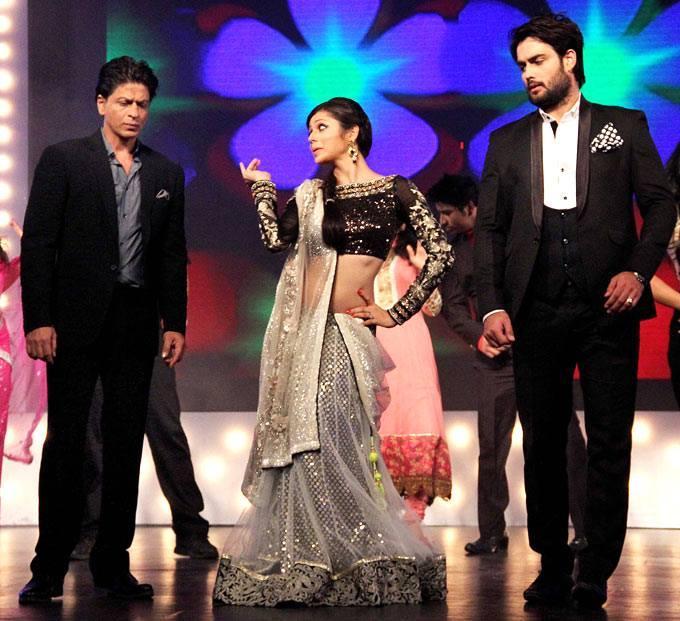 Shahrukh And Deepika On The Sets Of Madhubala Ek Ishq Ek Junoon