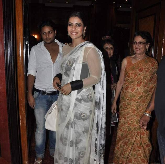 Kajol At Younger Sister Tanisha Stage Debut