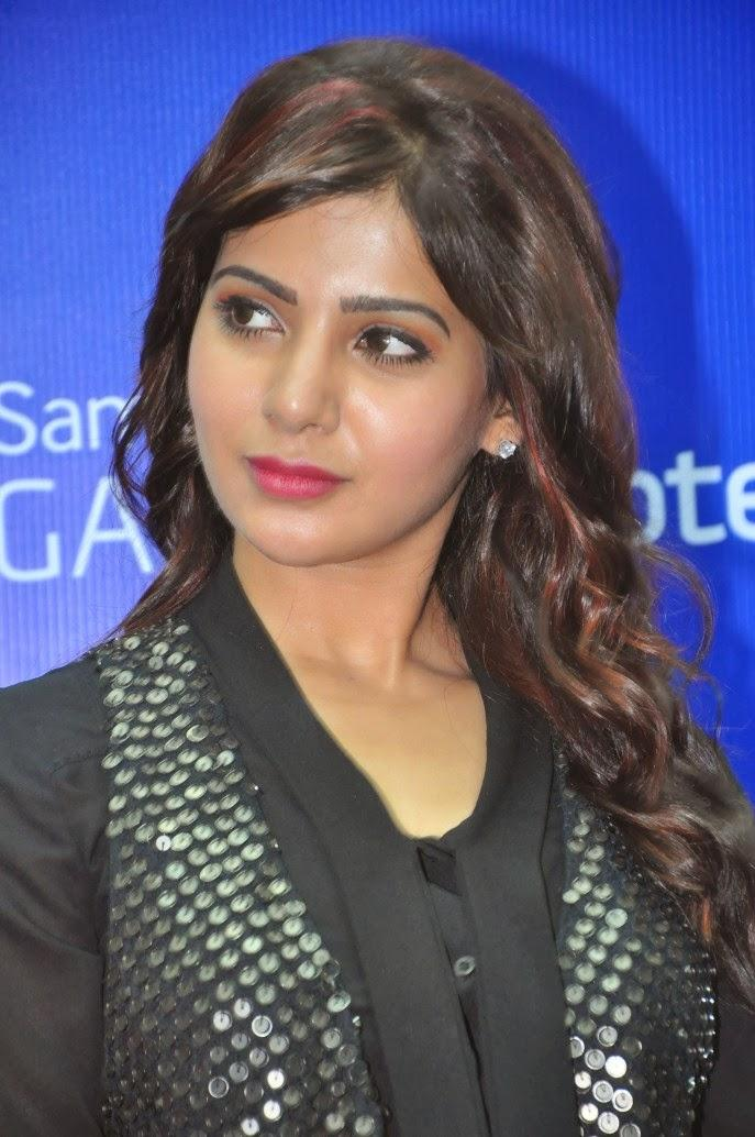 Samantha Cool Look At Samsung Galaxy Note III Launch Event