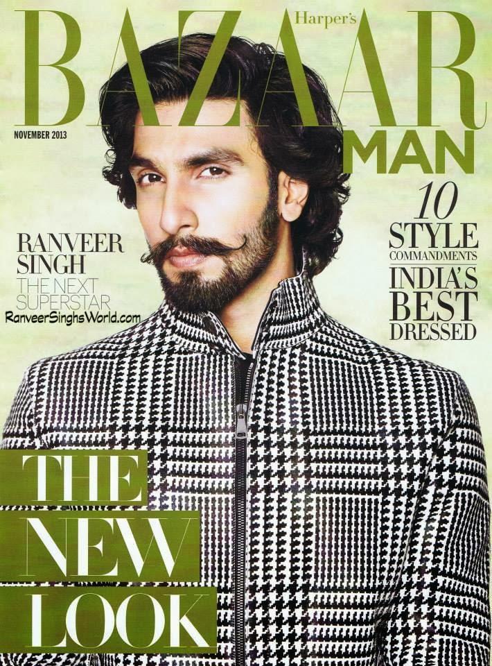 Ranveer Singh New Look Ranveer Singh Dazzling Look on