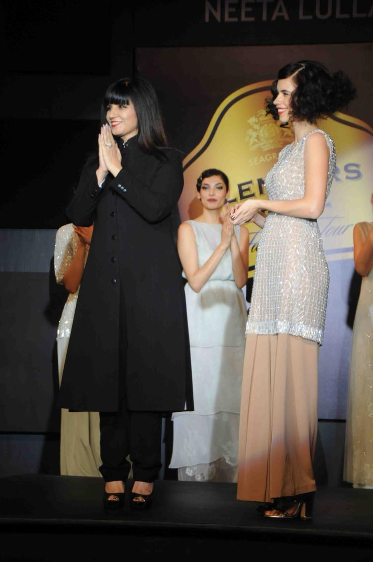 Kalki With Neeta Lulla Outfit At Blenders Pride Fashion Tour Mumbai Day 2 Event