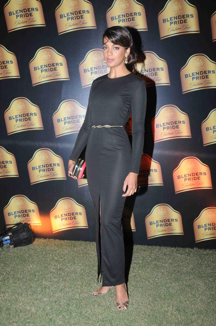 Mugdha Godse Snapped At Blenders Pride Fashion Tour Mumbai Day 2 Event