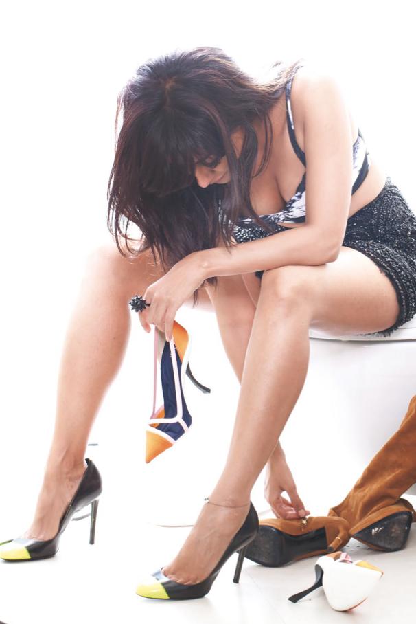 Chitrangada Singh Hot FHM India December 2013 Photo Shoot Stills