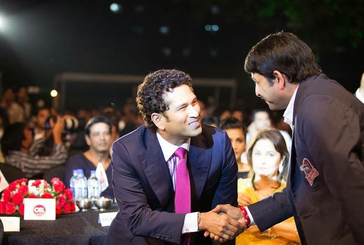 Sachin Tendulkar Launches Celebrity Cricket League (CCL) 4