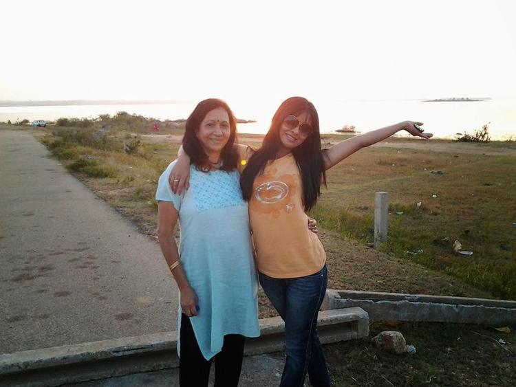 Radhika Pandit Photo Shoot On Location Of Bahaddur Movie | Memsaab com