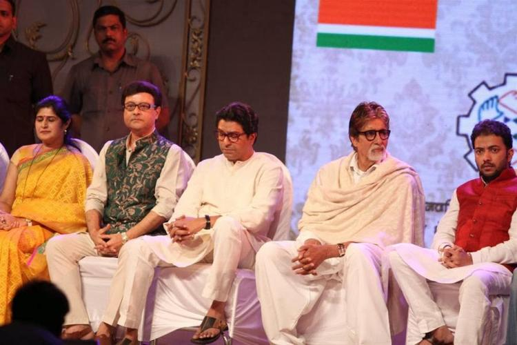 Amitabh With Other Bollywood Celebs Attend MNCS 7th Anniversary Event