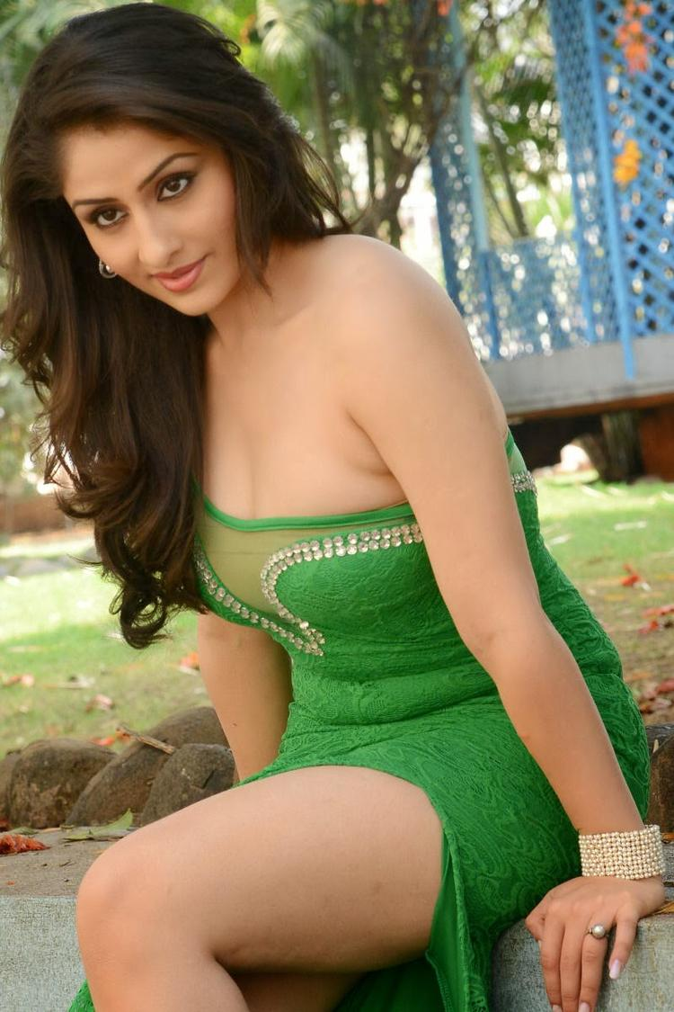 Ankita Sharma Shows Silky Body