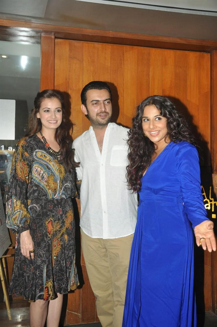 Dia Mirza And Vidya Balan Wrap-Up Party Of Bobby Jasoos