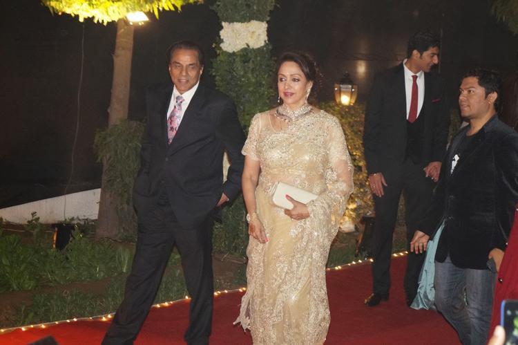 Celebs At Ahana Deol And Vaibhav Vohra Wedding Reception Party