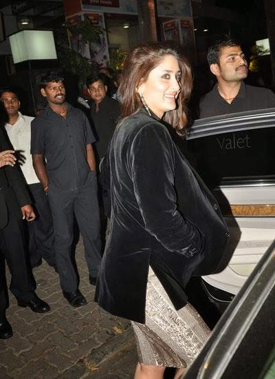 Kareena Kapoor Khan Stunning Face Look At Her Dad Randhir Kapoor's ...